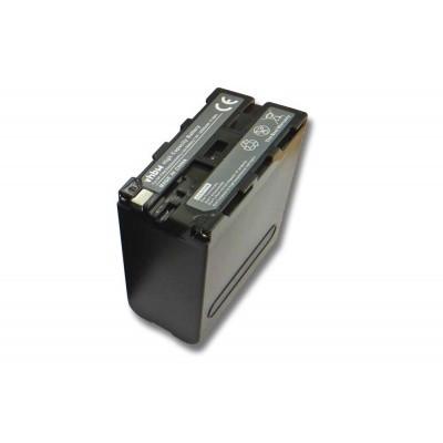 Sony NP-F930 videókamera utángyártott li-ion akku akkumulátor - 10400mAh (7.4V)