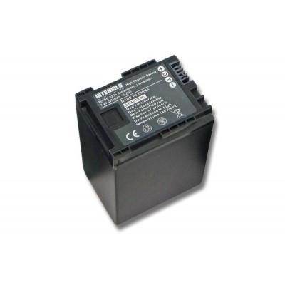 Canon BP-827 videókamera utángyártott li-ion akku akkumulátor - 2670mAh (7.2V)