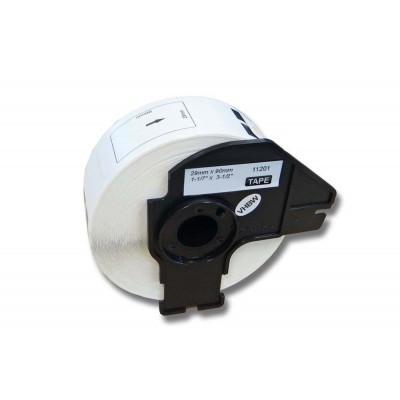 Brother DK-11201 utángyártott etikett címke szalag 29 mm * 90 mm