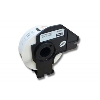 Brother DK-11204 utángyártott etikett címke szalag 17 mm * 54 mm