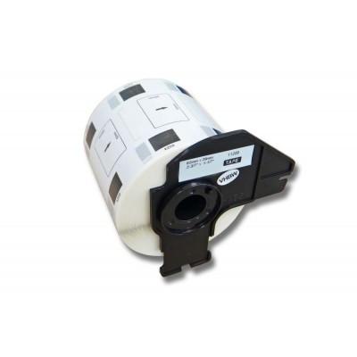 Brother DK-11209 utángyártott etikett címke szalag 62 mm * 29 mm