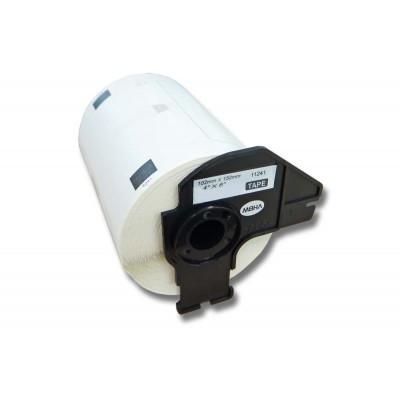 Brother DK-11241 utángyártott etikett címke szalag 102 mm * 152 mm