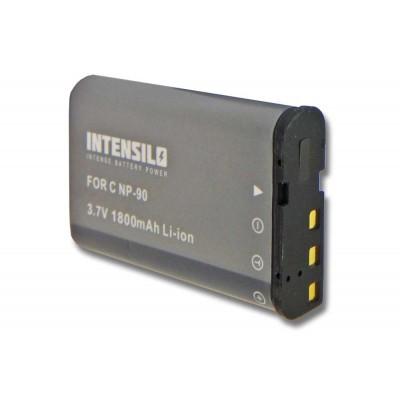 Casio NP-90 utángyártott digitális fényképezőgép akkumulátor akku 1800mAh (3.7V)