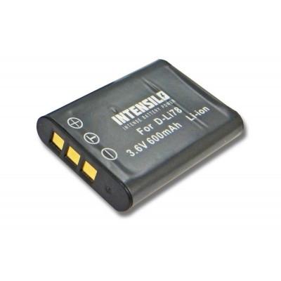 Pentax D-Li78 utángyártott digitális fényképezőgép akkumulátor akku 600mAh (3.6V)