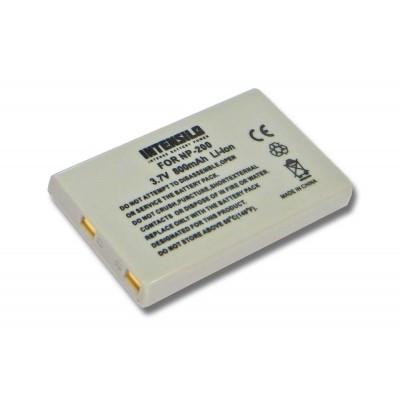 Konica Minolta NP-200 utángyártott digitális fényképezőgép akkumulátor akku 800mAh (3.7V)
