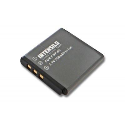Fuji Fujifilm NP-50 utángyártott digitális fényképezőgép akkumulátor akku 750mAh (3.7V)