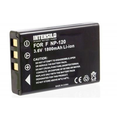 Fujifilm NP-120 utángyártott digitális fényképezőgép akkumulátor akku 1800mAh (3.6V)
