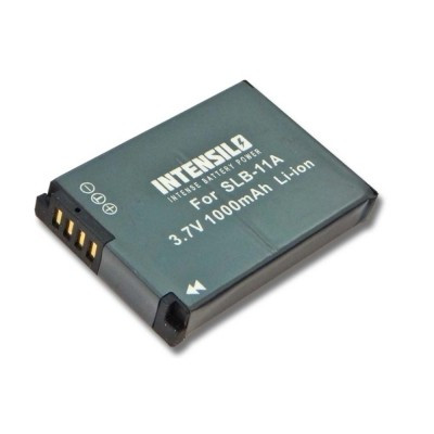 Samsung SLB-11A utángyártott digitális fényképezőgép akkumulátor akku 1000mAh (3.6V)