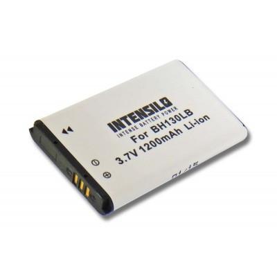 Samsung IA-BH130LB videókamera utángyártott li-ion akku akkumulátor - 1200mAh (3.7V)