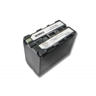 Sony NP-F960 videókamera utángyártott li-ion akku akkumulátor - 6600mAh (7.4V)