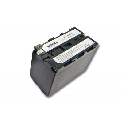 Sony NP-F960 videókamera utángyártott li-ion akku akkumulátor - 7800mAh (7.4V)