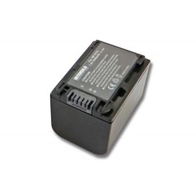 Sony NP-FV50 utángyártott digitális fényképezőgép akkumulátor akku 1640mAh (7.2V)