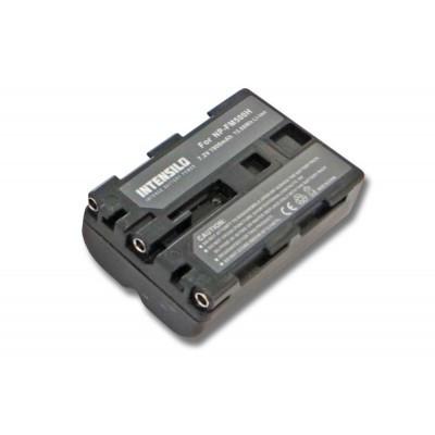 Sony NP-FM500H  utángyártott digitális fényképezőgép akkumulátor akku 1900mAh (7.2V)