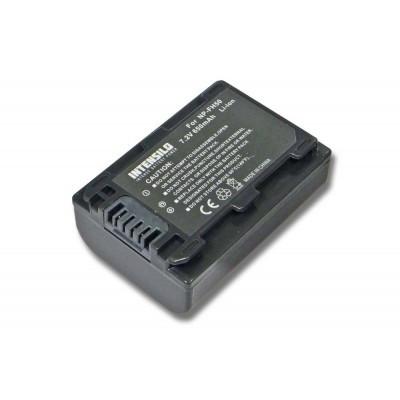 Sony NP-FH50 videókamera utángyártott li-ion akku akkumulátor - 650mAh (7.2V)