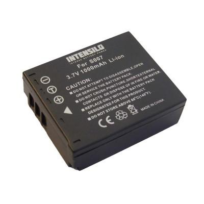 Panasonic CGA-S007  utángyártott digitális fényképezőgép akkumulátor akku 1000mAh (3.7V)