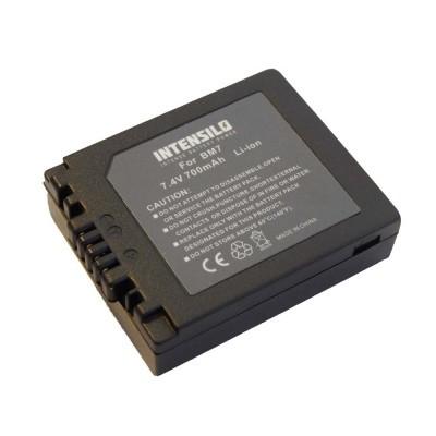 Panasonic DMW-BM7 utángyártott digitális fényképezőgép akkumulátor akku 700mAh (7.4V)