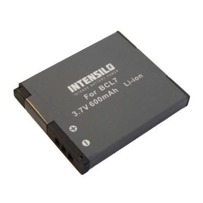 Panasonic DMW-BCL7 utángyártott digitális fényképezőgép akkumulátor akku 600mAh (3.7V)