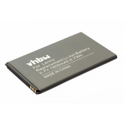 Wiko Lenny  utángyártott okostelefon li-ion akku akkumulátor - 1800mAh (3.7V)