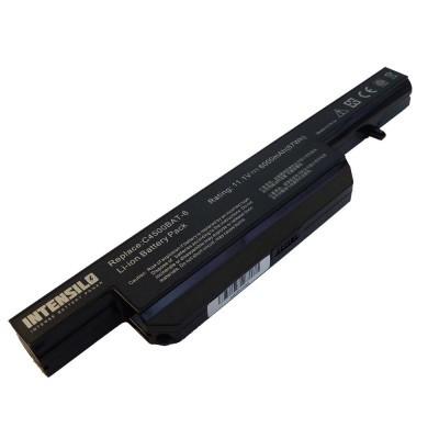 Clevo C4500BAT-6 utángyártott laptop akkumulátor akku - 6000mAh (10.8V) fekete