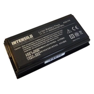 Asus A32-F5 utángyártott laptop akkumulátor akku - 6000mAh (10.8V) fekete