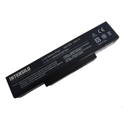 Asus A32-F2 utángyártott laptop akkumulátor akku - 6000mAh (10.8V) fekete