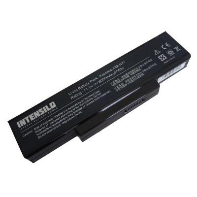 Asus A32-K72 utángyártott laptop akkumulátor akku - 6000mAh (10.8V) fekete