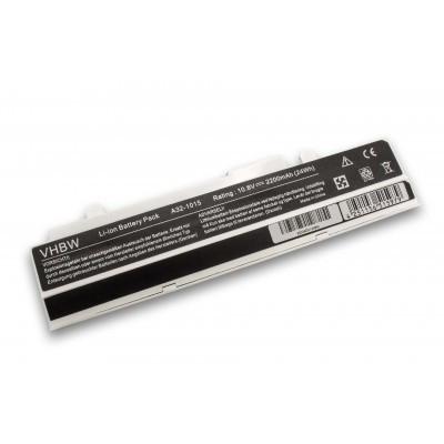 ASUS A32-1015 Eee PC 1015 / 1216 stb. utángyártott laptop akkumulátor akku - 2200mAh (10.8V) fehér