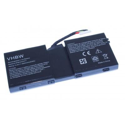 Dell 2F8K3, G33TT, KJ2PX Alienware M17X R5 / M18X R3 stb.  utángyártott laptop akkumulátor akku - 5600mAh (14.8V)
