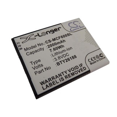 Elson BTY26188 Mobistel Cynus F6 utángyártott mobiltelefon li-ion akku akkumulátor - 2000mAh (3.8V)