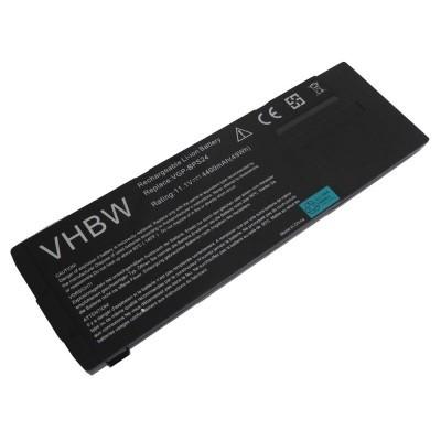 Sony Vaio VGP-BPS24 utángyártott laptop akkumulátor akku - 4400mAh (11.1V) fekete