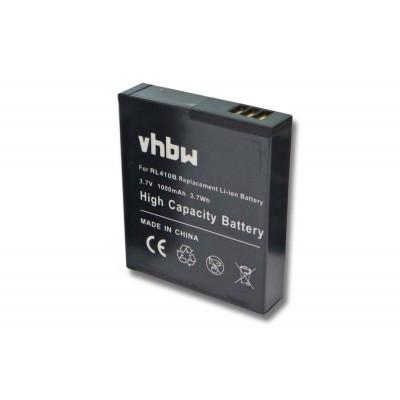Rollei RL410B  utángyártott digitális fényképezőgép akkumulátor akku 1000mAh (3.7V)
