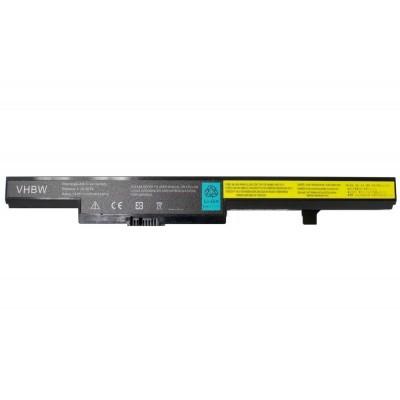 Lenovo 45N1182, 45N1183, 45N1184, 45N1185 (B40 / B50 / N40 / N50 series stb.) utángyártott laptop akkumulátor akku - 2200mAh (14.8V) fekete