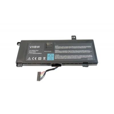 Dell 8X70T, G05YJ AlienWare utángyártott laptop akkumulátor akku - 6200mAh (11.1V) fekete