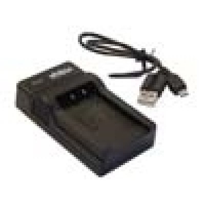 Panasonic DMW-BCF10E stb. kompatibilis micro USB akkumulátor töltő