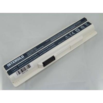 Medion BTY-S14, BTY-S15BTY-S14 utángyártott laptop akkumulátor akku - 6000mAh (10.8V) fehér