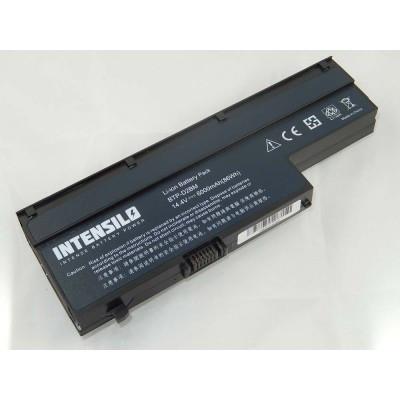 Medion BTP-D2BM utángyártott laptop akkumulátor akku - 6000mAh (14.4V) fekete