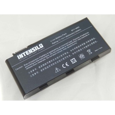 Medion BTY-M6D utángyártott laptop akkumulátor akku - 9000mAh (10.8V) fekete