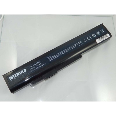 Medion A32-A15 utángyártott laptop akkumulátor akku - 6000mAh (10.8V) fekete