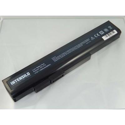 Medion A32-A15 utángyártott laptop akkumulátor akku - 6000mAh (14.4V) fekete