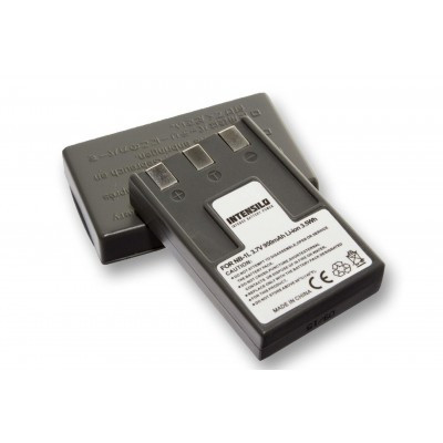 Canon NB-1L utángyártott digitális fényképezőgép akkumulátor akku 950mAh (3.7V)