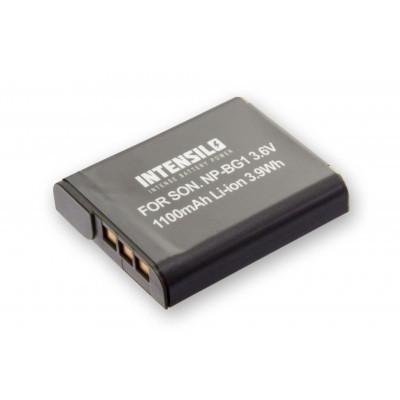Sony NP-BG1  utángyártott digitális fényképezőgép akkumulátor akku 1100mAh (3.6V)