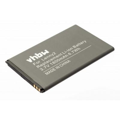 Wiko 5030 Lenny 2 utángyártott okostelefon li-ion akku akkumulátor - 1800mAh (3.7V)