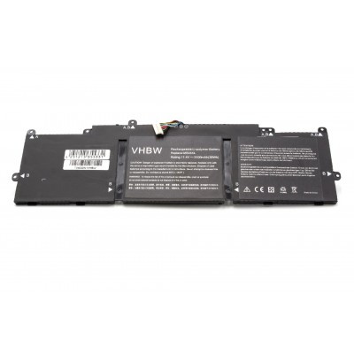 HP 787089-541, 787521-005 (Stream 11, Stream 13) utángyártott laptop akkumulátor akku - 3100mAh (11.4V) fekete