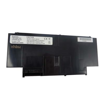 Fujitsu FMVNBP183 utángyártott laptop akkumulátor akku - 3600mAh (7.2V) fekete