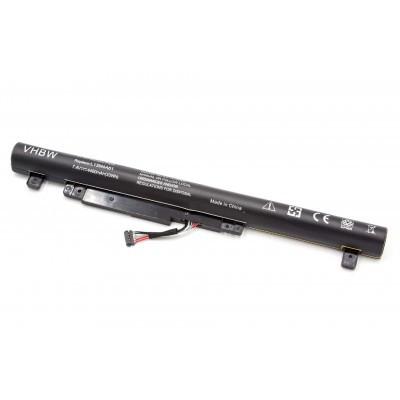Lenovo L13S4A61 Flex 2 14 / 15  utángyártott laptop akkumulátor akku - 4400mAh (7.4V) fekete