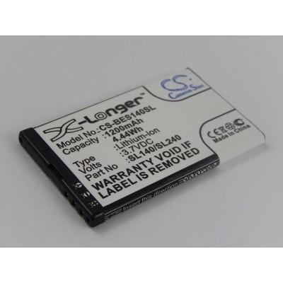 BeaFon SL140 utángyártott mobiltelefon li-ion akku akkumulátor - 1200mAh (3.7V)