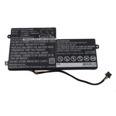 Lenovo 45N1110 ThinkPad T440 / T450 / X240 Touch utángyártott laptop akkumulátor akku - 2000mAh (11.4V)