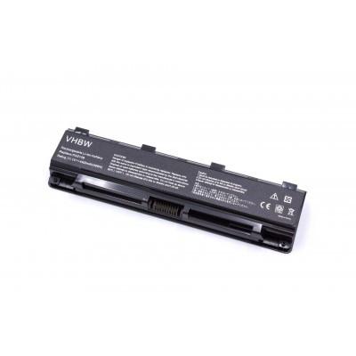 Toshiba PA5108, PA5109, PA5110 utángyártott laptop akkumulátor akku - 4400mAh (10.8V) fekete