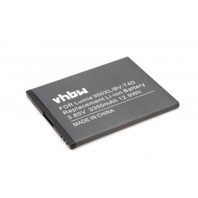 Microsoft / Nokia BV-T4D  utángyártott mobiltelefon li-ion akku akkumulátor - 2950mAh (3.9V)