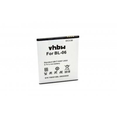 THL BL-06 T6 / T6 Pro utángyártott okostelefon li-ion akku akkumulátor - 2250mAh (3.7V)